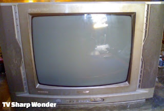 Kerusakan TV Sharp Wonder