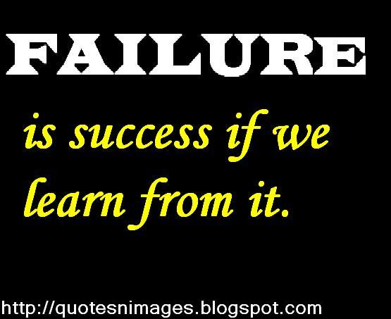 Quotes On Success And Failure: Quotes And Sayings: Quotes On Failure