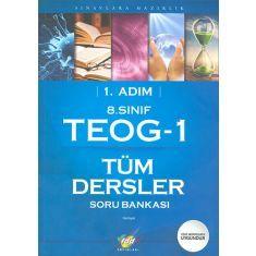 FDD 8.Sınıf TEOG 1 Tüm Dersler Soru Bankası 1.Adım (2017)