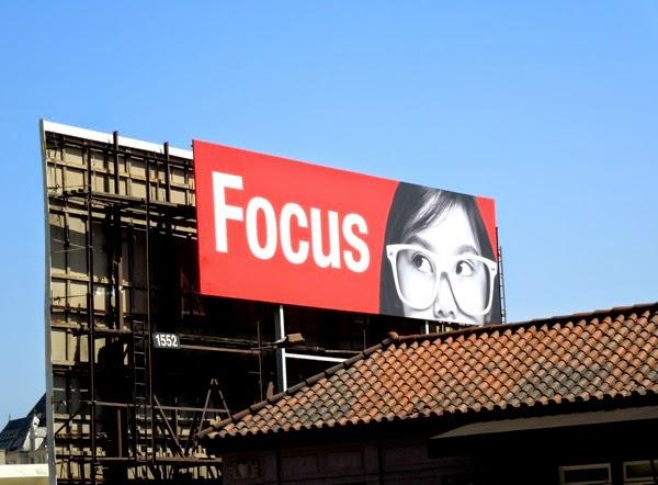 Focus billboard