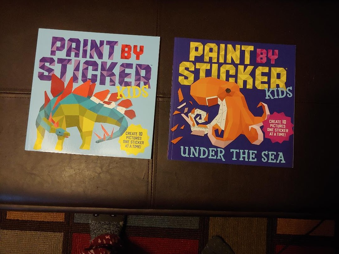 Workman Publishing Paint By Sticker Kids Review