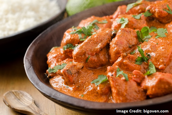 Butter Chicken in Indian Style