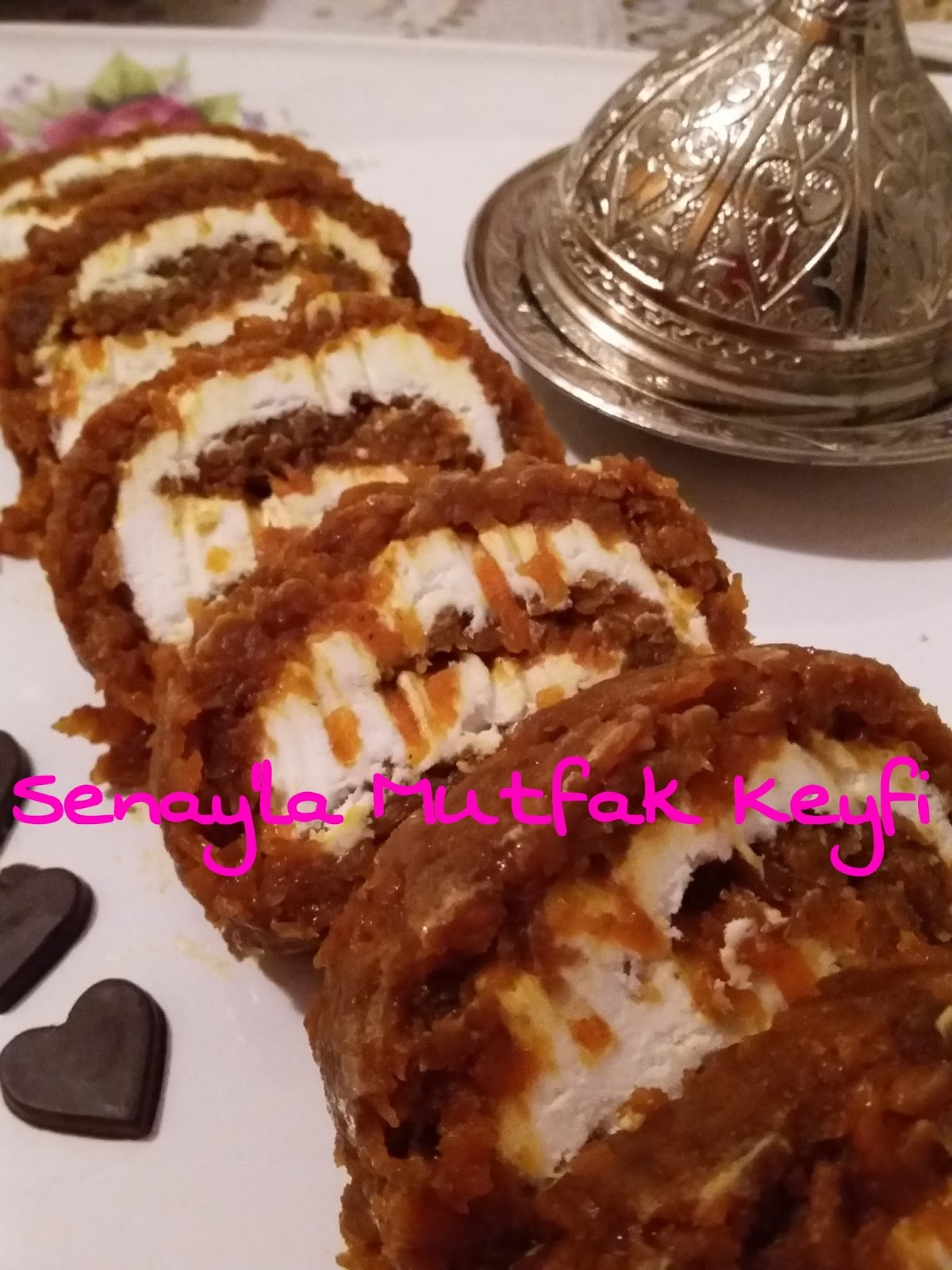 Havuçlu Bisküvi Pastası