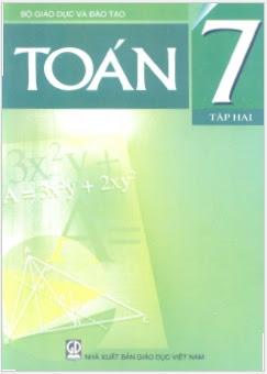 Sách Giáo Khoa Toán Lớp 7 Tập 2 - Nhiều Tác Giả