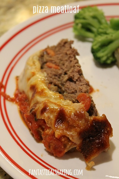 Pizza Meatloaf #recipe #meatloaf #beef #pizza #maindish