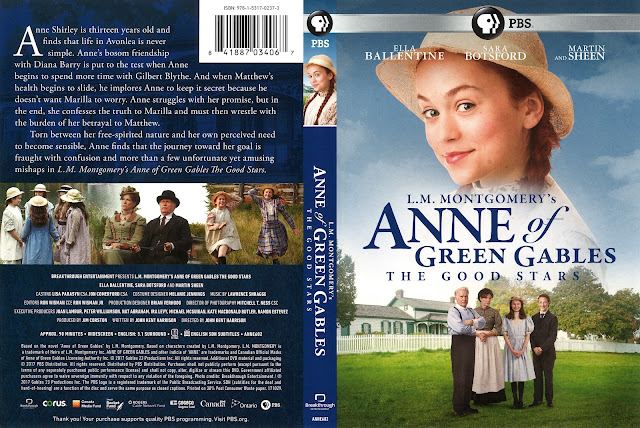 Anne of Green Gables: The Good Stars Bluray Cover