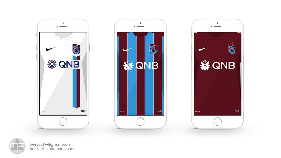 Beetot Kit: Trabzonspor Kit 1617 Iphone 6 Wallpaper