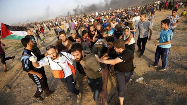 ONG palestina denuncia 'uso excesivo de la fuerza' por Israel