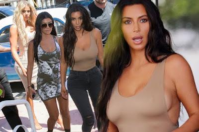 Kim and sister