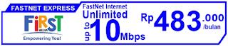 Paket Internet First Media FastNet Express