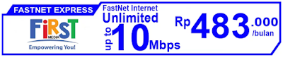 Paket Internet First Media FastNet Express
