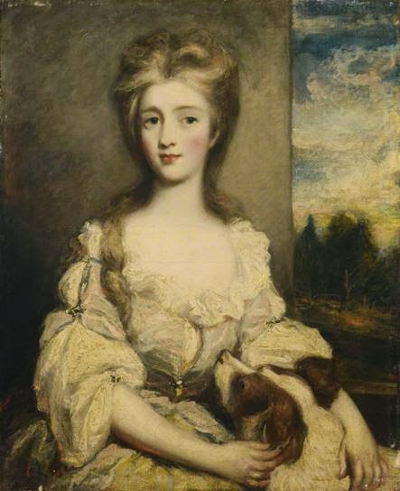 Mrs Archibald Hutcheson by Ozias Humphry