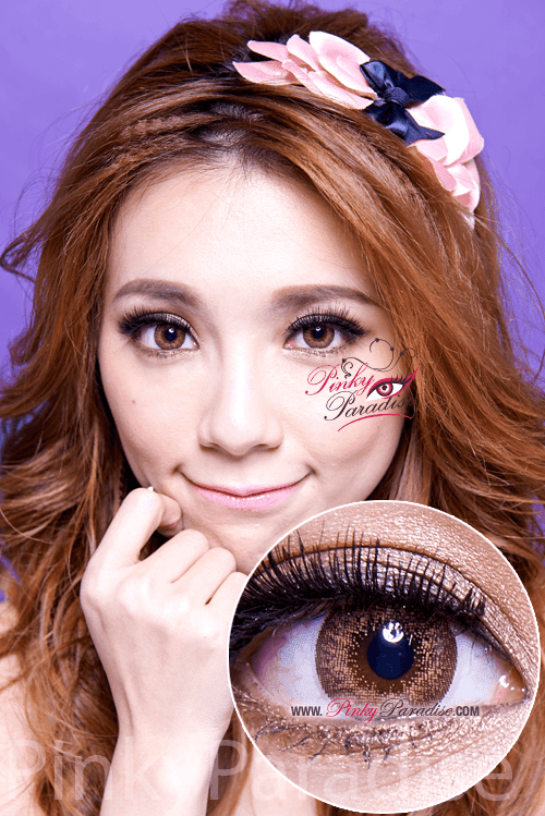 Mi Dali Extra Brown Toric Circle Lenses (Colored Contacts)