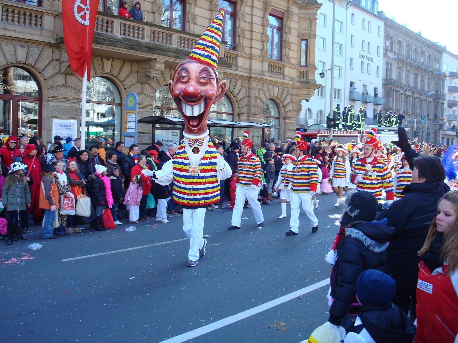 Rowdy In Germany Fasching In Mainz