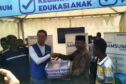 Samsung Peduli Hadirkan Layanan Gratis untuk Korban Gempa Lombok
