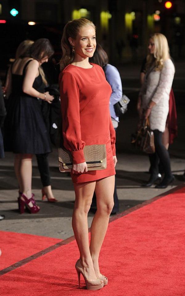 Fashion In Wedding Kristin Cavallari Wearing A Red Tight