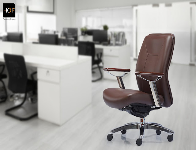 buying best brown leather ergonomic office chair for sale