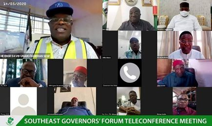 Communiqué At The 1st Southeast Governors Forum Teleconference Meeting