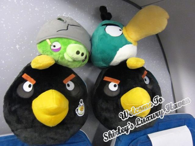 angry birds stuff toys onboard finnair