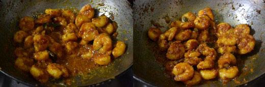 Nadan Chemmeen Varuthathu Kerala Style Prawn Fry Indian Khana