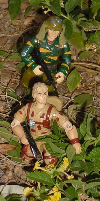 1993 Duke, 1988 Tiger Force Dusty