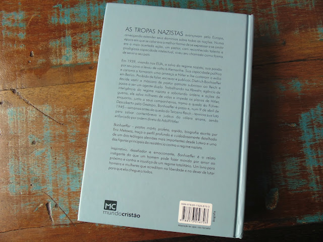 biografia Bonhoeffer