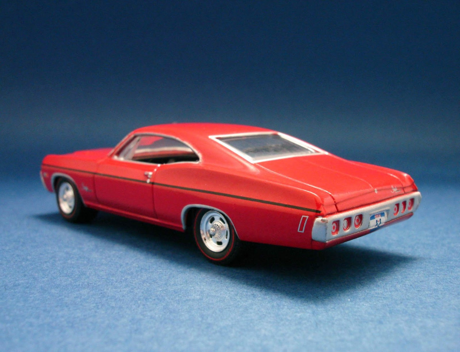 Diecast Hobbist 1968 Chevrolet Impala Ss Custom Coupe 164 Scale From Greenlight Muscle Car Garage Stock Series 1