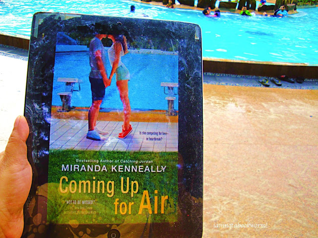 Coming Up for Air by Miranda Kennealy | A Book Review by iamnotabookworm!