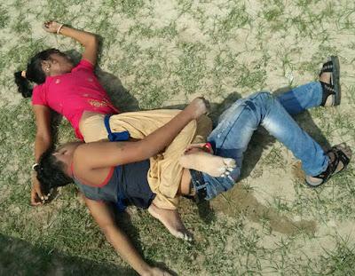 प्रेमी के साथ तालाब में कूदकर आत्महत्या