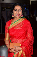 Suhasini in Designer dark Red Saree at 64th Jio Filmfare Awards South ~  Exclusive 005.JPG