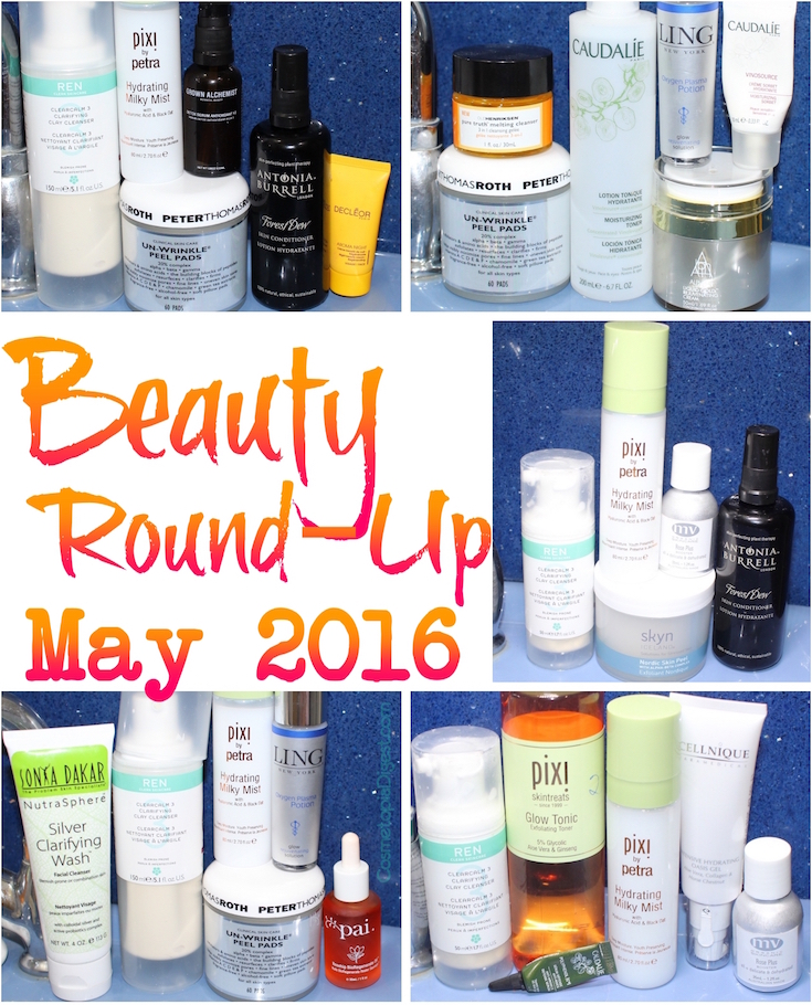 My Beauty Routine Round-Up For May 2016, And Favourite Products.