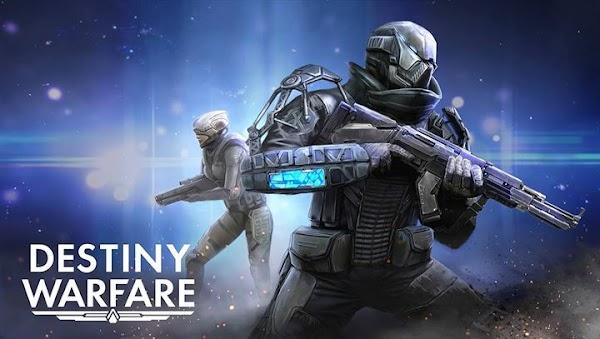 Destiny Warfare: Sci-Fi FPS 1.3.3 [Mod Money] APK+ OBB