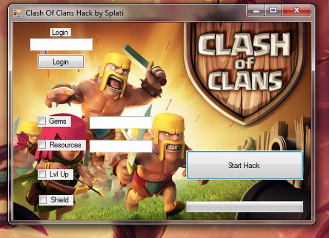 Clash of Clans Cheats Service for Free Gems