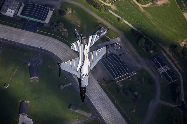 Belgian F-16 demo aishow calendar 2019