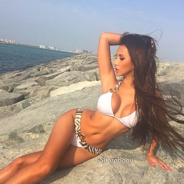 Fitness Model Sitorabanu Israilova Instagram photos