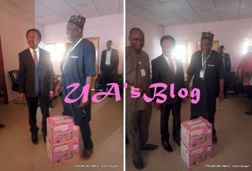 Drama As Senator Storms JAMB Office With Anti-snake Venom, Charmers Over Missing Money (Photos)