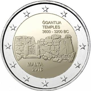 2€ temples de Ggantija