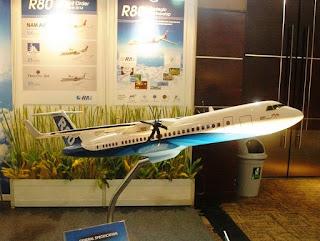 Pesawat R80 Rancangan BJ Habibie