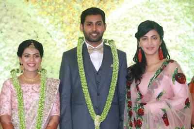 shruti-haasan-at-the-wedding-reception-of-aadhav-weds-vinodhnie