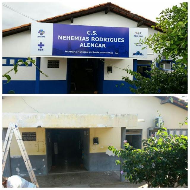 Postos de Saúdes Nehemias e Fazendinha são reformados pela Prefeitura de Piranhas