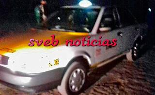 Hallan ejecutado a taxista en Amatlán de los Reyes Veracruz