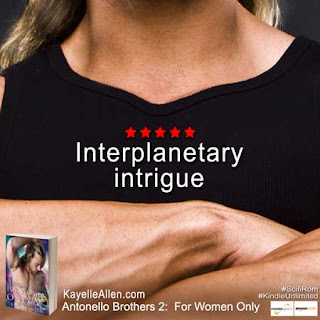 Meet the bad guys from For Women Only @kayelleallen #SciFi #Romance