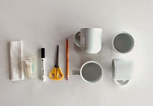 la reines blog geschenk f r muttertag basteln diy tasse anmalen. Black Bedroom Furniture Sets. Home Design Ideas
