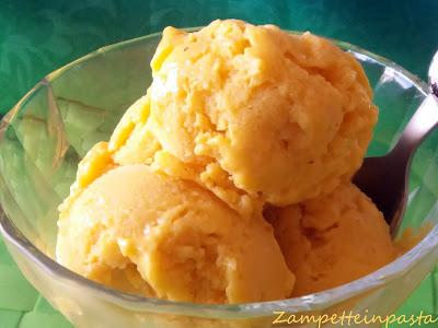 Gelato al mango - Gelato senza gelatiera