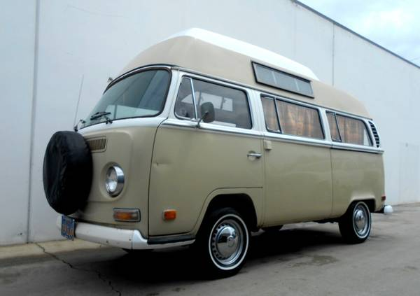 1971 VW Adventure Wagon Camper Van