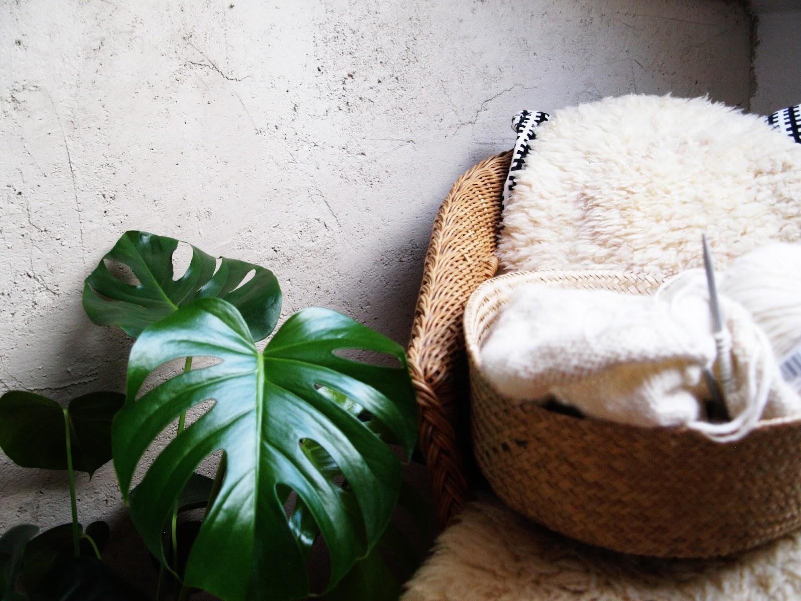 gartennymphe eine wand in betonoptik. Black Bedroom Furniture Sets. Home Design Ideas