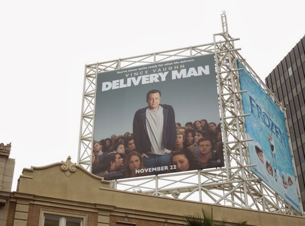 Delivery Man movie billboard