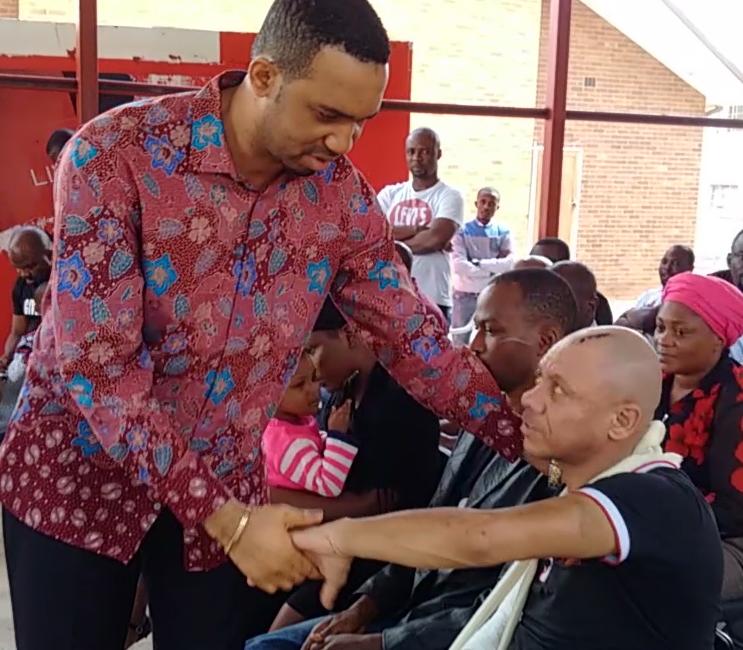 pastor okafor visits nigerians south africa