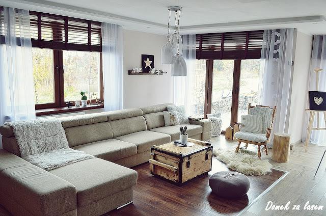 Zimowy  salon