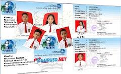 Aplikasi Pembuatan Kartu NISN Berbasis Excel Semua Jenjang Sekolah